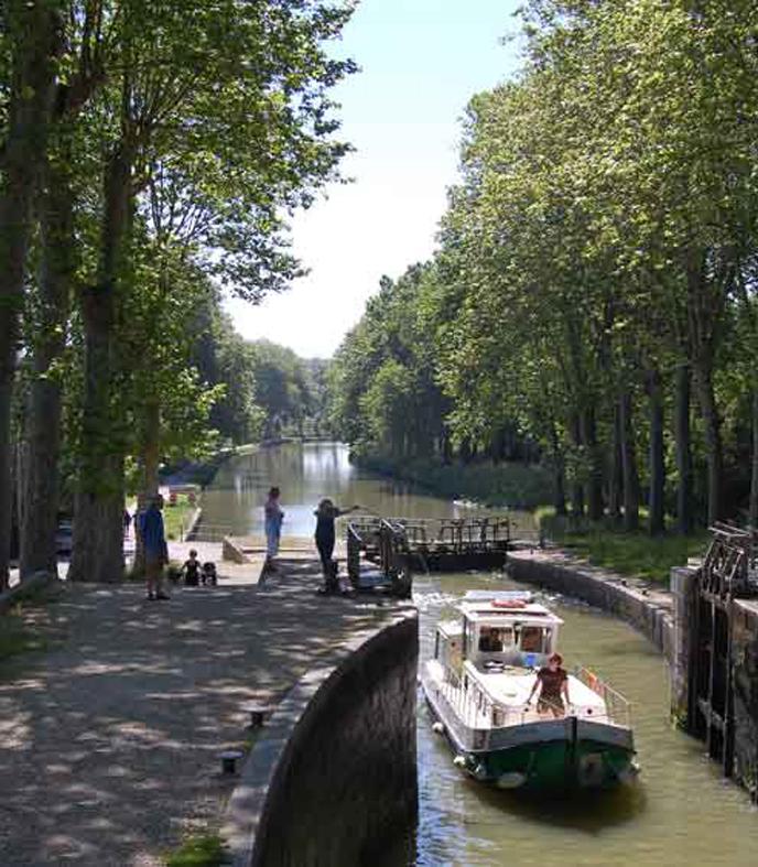 Canal Du Midi - Castelnaudary
