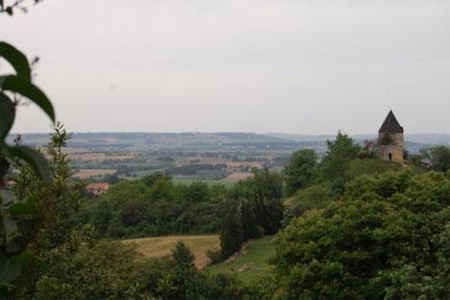 View from St Felix Lauragais